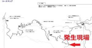 自転車ロードレース コースマップ