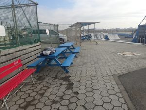 鵠沼海浜公園スケートパークテーブル