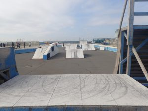 鵠沼海浜公園スケートパークストリートリンクエリア3