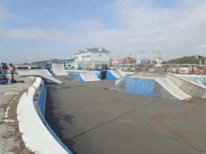 鵠沼海浜公園スケートパークストリートリンクエリア4
