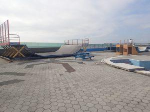 鵠沼海浜公園スケートパークストリートリンクエリア5