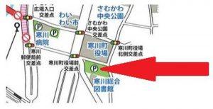 寒川神社 初詣 有料駐車場12