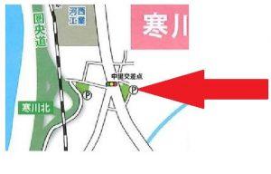 寒川神社 初詣 有料駐車場2