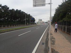 湘南国際マラソン静寂