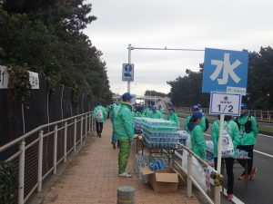 湘南国際マラソン給水場所