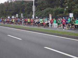 湘南国際マラソン雰囲気