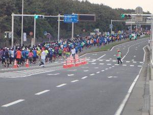 湘南国際マラソン風景