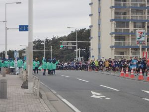 湘南国際マラソン風景2