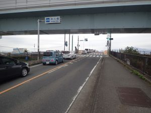 湘南国際マラソン神川橋