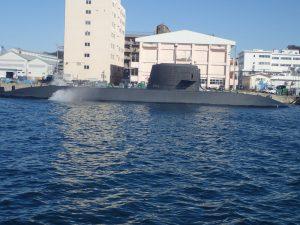 よこすか軍港めぐり 潜水艦