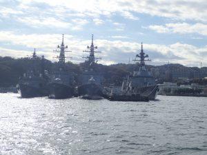 よこすか軍港めぐり 日本 イージス艦