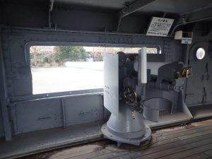 三笠8センチ砲台