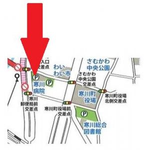 寒川神社 初詣 有料駐車場10