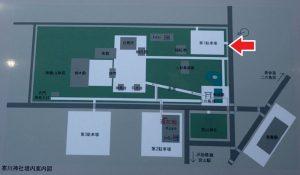 寒川神社 屋台 第一駐車場