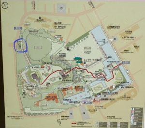 小田原城址公園 公衆トイレマップ