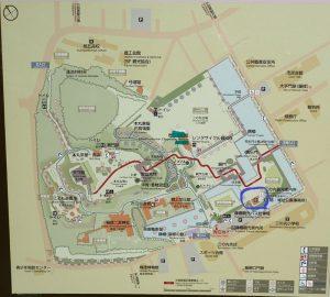 小田原城址公園 二の丸観光案内所 トイレマップ