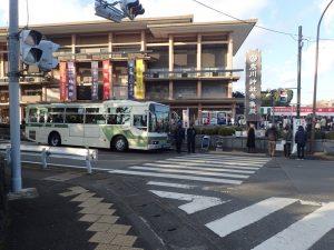 寒川神社 初詣 海老名行きバス
