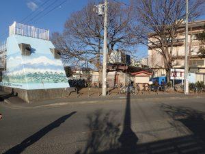 寒川神社 初詣 駐輪場