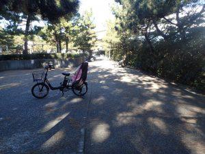 海の公園 周辺 大型バイク 駐車場