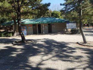 海の公園 磯浜駐車場 そばにある公衆便所