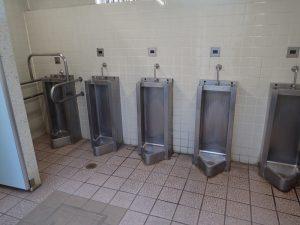 海の公園 BBQセンター売店横 トイレ 小便器