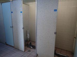 海の公園 BBQセンター売店横 トイレ 大便器