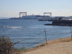 海の公園 住友重機工業㈱横須賀製造所