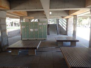 海の公園 南口休憩所 ロッカールーム