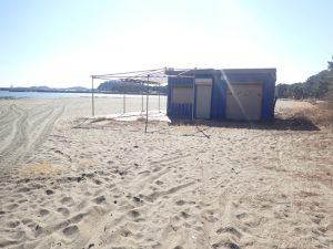 海の公園 季節売店