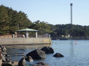 海の公園 公園区域 350m