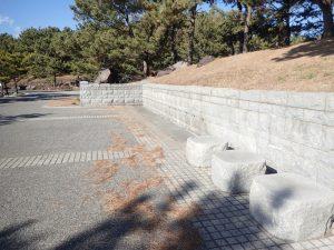 海の公園 足の洗い場 7つ目