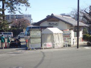 小田原城 藤棚観光案内所