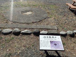 小田原城址公園 切石敷井戸
