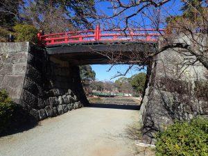 小田原城址公園 常盤木橋(ときわぎばし)