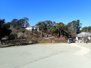 小田原城址公園 銅門 見晴らしポイント