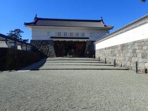 小田原城址公園 銅門(あかがねもん)