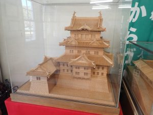 小田原城址公園 二の丸観光案内所 模型