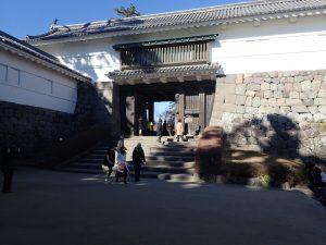 小田原城址公園 常盤木門(ときわぎもん)