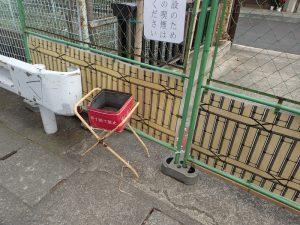 寒川神社 初詣期間中 喫煙場所