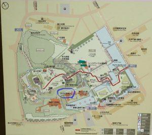 小田原城址公園 市立図書館 トイレマップ