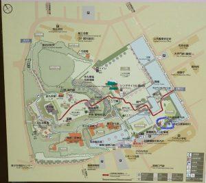 小田原城址公園 二の丸観光案内所 喫煙場所