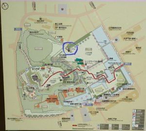 小田原城址公園 公衆トイレ 二の丸広場 トイレマップ