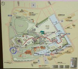 小田原城址公園 こども遊園地 トイレマップ