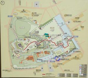 小田原城址公園 タクシーのりばマップ