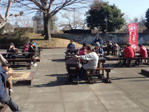 小田原フラワーガーデン 休憩場所