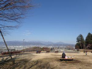 県立おだわら諏訪の原公園 ランチ ベンチ