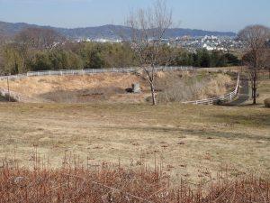 県立おだわら諏訪の原公園 陽だまりの丘 調整池