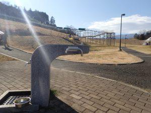 県立おだわら諏訪の原公園 ローラー滑り台 水飲み場