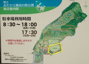 県立おだわら諏訪の原公園 多目的広場