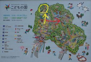 こどもの国横浜 梅園地図